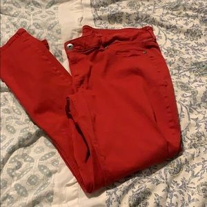 Red Maurice's Xl pixie pants